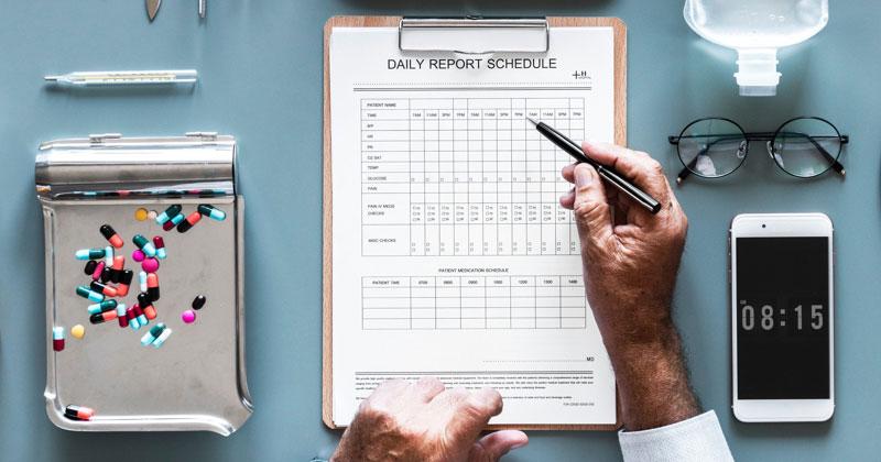 Plattform für das Patientenmanagement